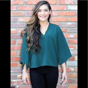 Ponderosa Green Blouse by Lush